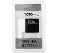 Аккумулятор TOTO BP-6M for Nokia 1000/1070 mAh