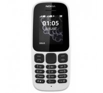 Смартфон Nokia 105 DS New White (A00028316)