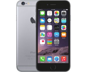 Смартфон Apple iPhone 6 128GB Space Grey (MG4A2)
