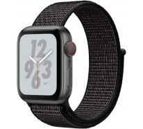 Apple Watch Series 4 Nike+ (GPS + Cellular) 40mm Space Gray Aluminum Case with Black Nike Sport Loop