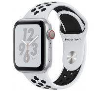 Apple Watch Series 4 Nike+ (GPS + Cellular) 40mm Silver Aluminum Case with Pure Platinum/Black Nike Sport Band