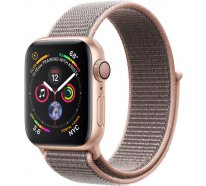 Смарт-часы Apple Watch Series 4 (GPS) 40mm Gold Aluminum w. Pink Sand Sport Loop (MU692)