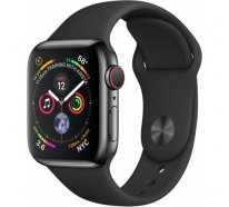 Смарт-часы Apple Watch Series 4 GPS + LTE 40mm Black Steel w. Sport b. (MTUN2/MTVL2)