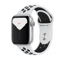 Смарт-часы Apple Watch Nike Series 5 GPS 40mm Silver Aluminum w. (MX3R2)