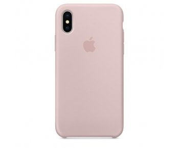 Чехол Apple iPhone X Silicone Case Pink Sand (MQT62)
