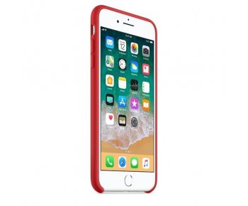 Чехол Apple iPhone 8 Plus Silicone Case Red (MQH12)