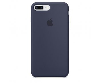 Чехол Apple iPhone 8 Plus Silicone Case Midnight Blue (MQGY2)