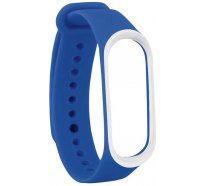 Ремешок UWatch Double Color Replacement Silicone Band For Xiaomi Mi Band 3 Blue/White Line