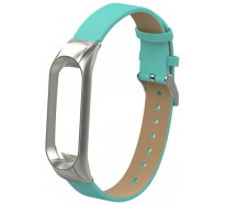 Ремешок UWatch PU leather Band For Miband 3 Green