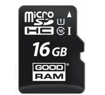 Карта памяти Goodram microSDHC/SDXC class 10 UHS-1 SD adapter 16Gb