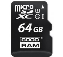 Карта памяти Goodram microSDHC/SDXC class 10 UHS-1 SD adapter 64Gb