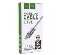 USB Cable HOCO U16 Magnetic DataCable 1200 IP6 Silver